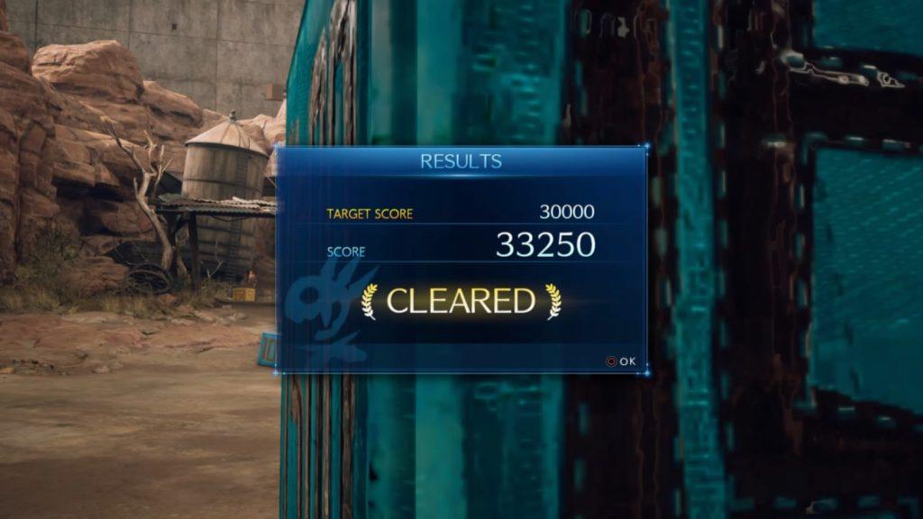 クラッシュボックス3万点クリア