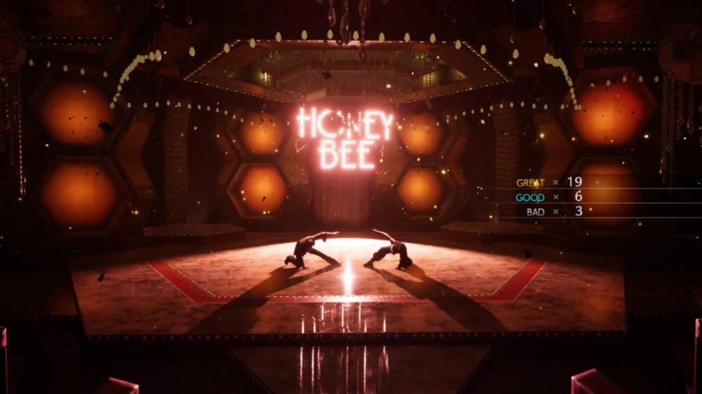 ダンスゲームスコア