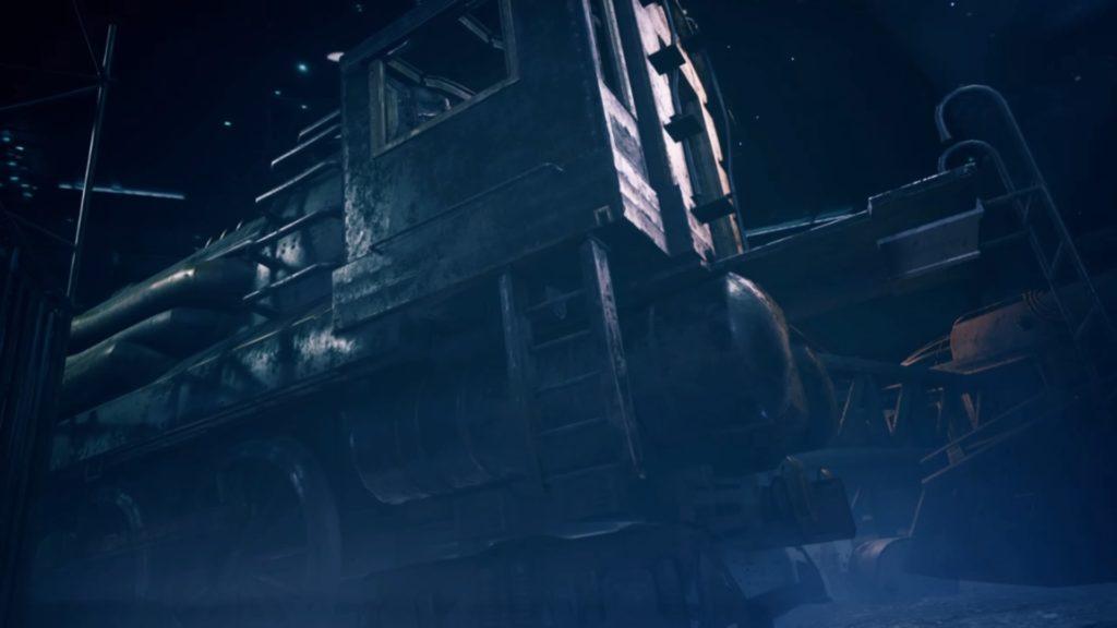 動いた列車
