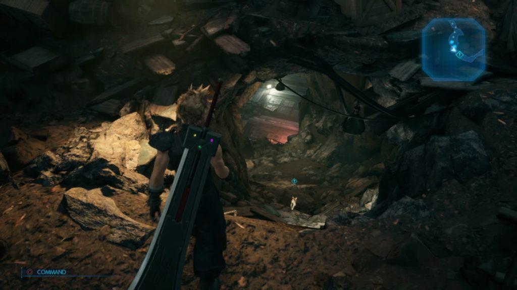 謎の地下施設