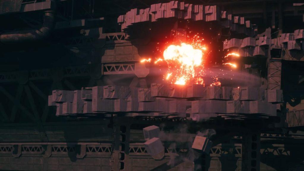 ヘリガンナー爆発