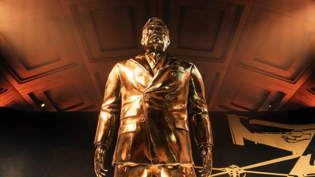 プレジデントの黄金像