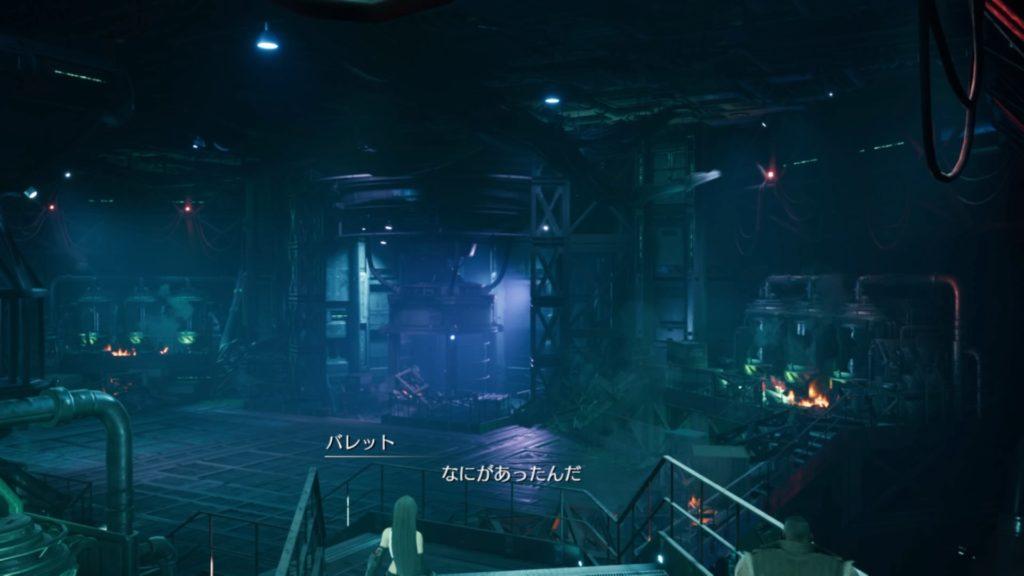荒らされた研究室