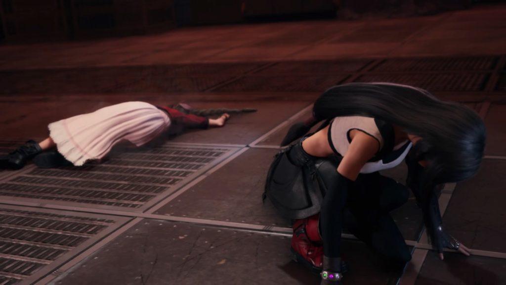 落ちた二人