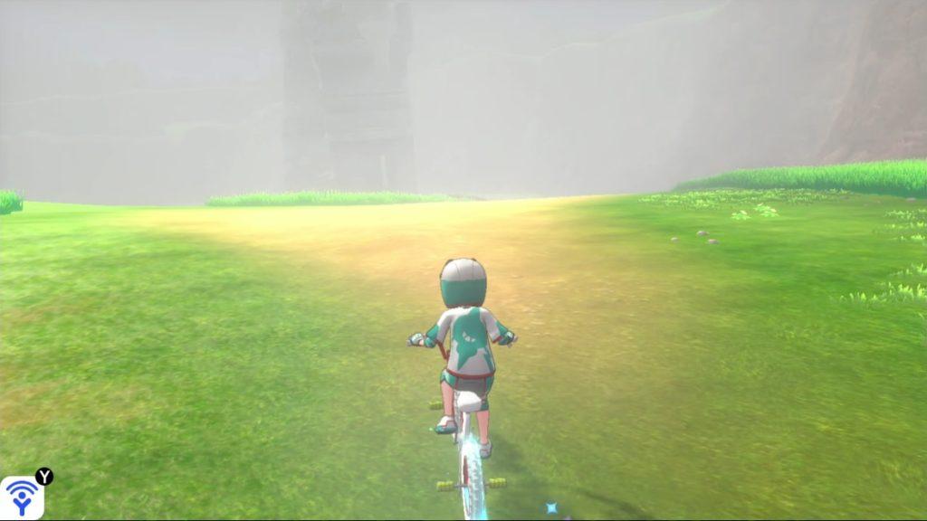 霧でガラルサンダーを見失った