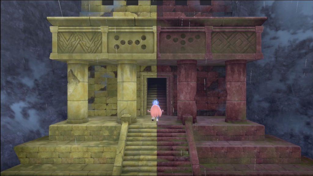 最後の遺跡の扉が開いた