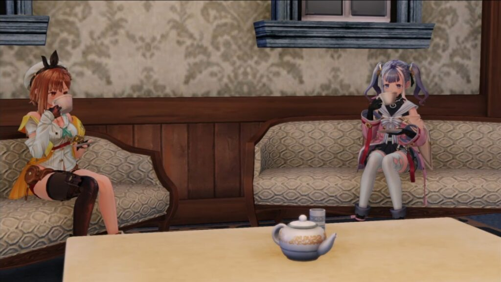 パティの家でお茶会